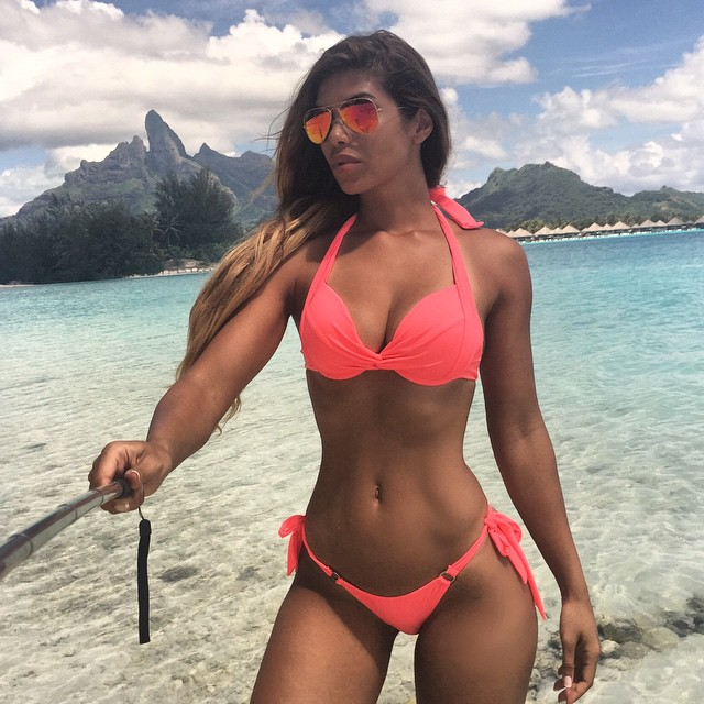 Brunette hottie belle noire takes some dick in her hot twat 5